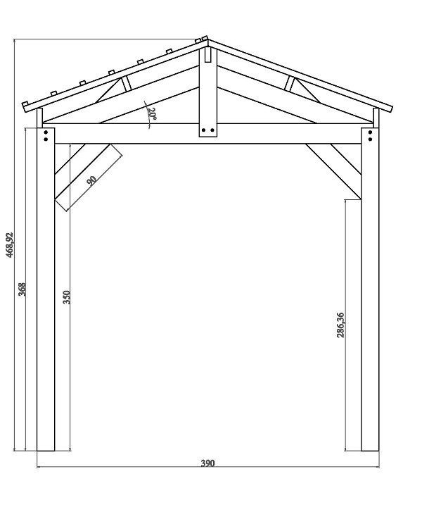 Contact pologne carports robustes for Taille garage 2 voitures