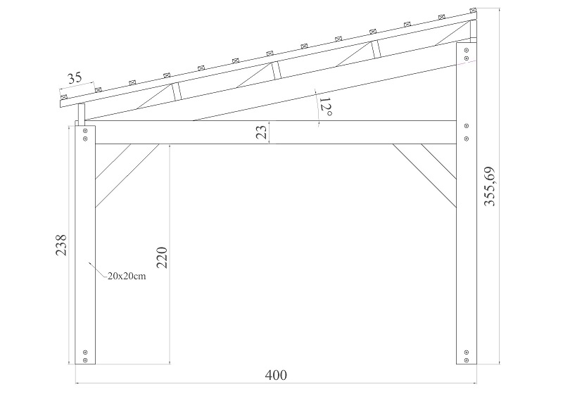 Contact pologne carports robustes for Largeur garage double