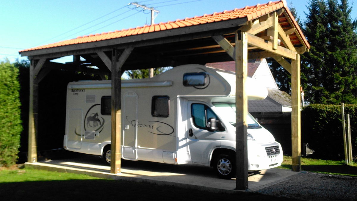 Contact pologne carports robustes - Carport camping car ...